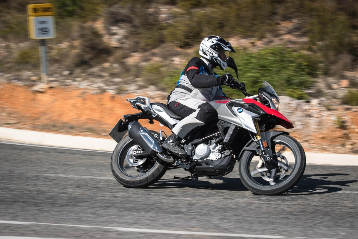 First ride: BMW G310GS